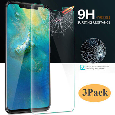 3Pack For Huawei Mate 20X/Mate 20 Pro/Lite Tempered Glass Film Screen Protector