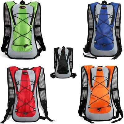 Outdoor Hydration Backpack Water Bag 2L Storage Sports Cycling Ultralight Pack R