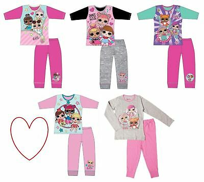 Girls Long LOL Surprise Pajamas Pjs Pyjamas Sleepwear Gift