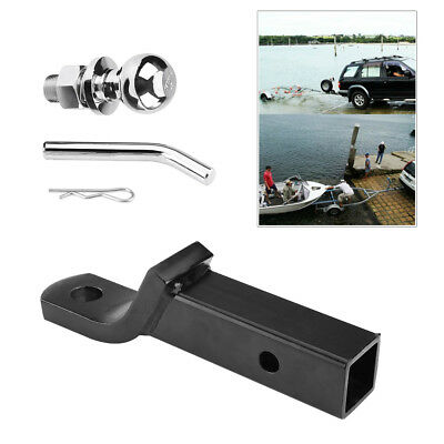 2Inch/50mm Trailer Ball Mount Tongue Hitch Receiver for Towing Towbar Caravan