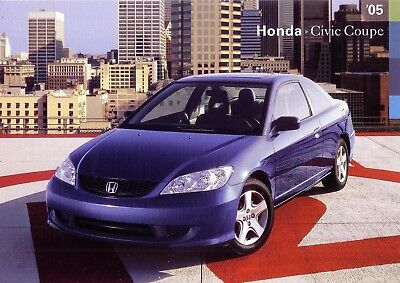 Honda 2005 Civic Coupe Show Room Poster 24 X 36  Brand New Suitable For Framing