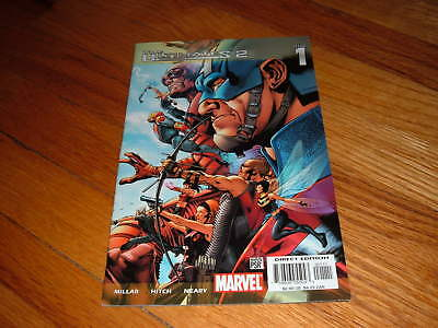 THE ULTIMATES 2 #1 Mark Millar BRYAN HITCH Paul Neary Captain America Comic Book