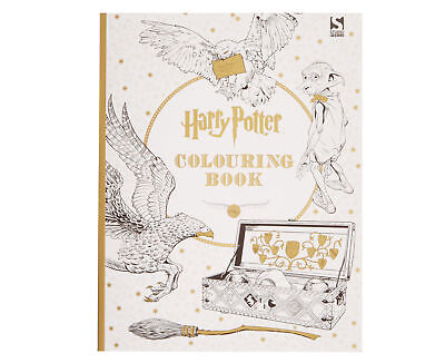 Harry Potter Colouring Book, Warner Brothers, New Book