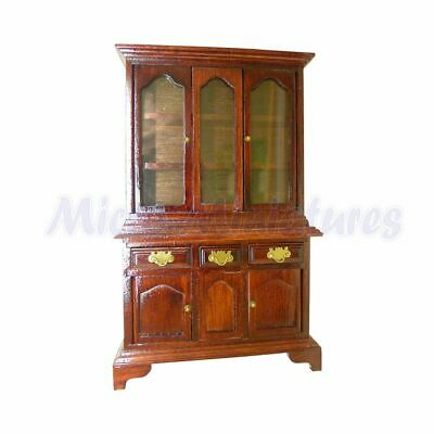 Dolls House Mahogany Kitchen Dresser 1/12th Scale (02134)