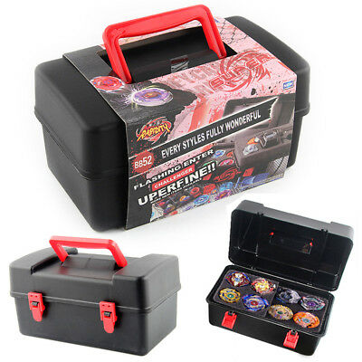 Portable Waterproof Box 8 in 1 Carrying Case For Beyblade Burst Spinning Top