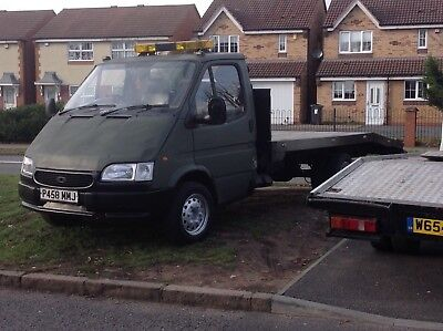 Ford transit recovery truck smiley face 2.4 DI