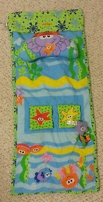 Infantino Colorful Sea 3-In-1 Shopping Grocery Cart High Chair Cover & Play Mat
