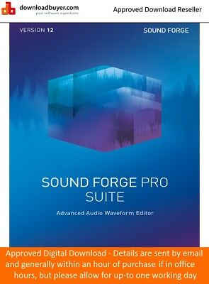 MAGIX Sound Forge Pro 12 Suite - for PC - (Approved Digital Download)