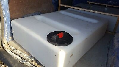 400L Litre Flat Plastic Water Storage Tank - Valeting Window Cleaning Camping