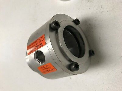 "Line Vac,Aluminum, 2"" EXAIR 140200  Modified for bulkhead mount and 2"" Hose"