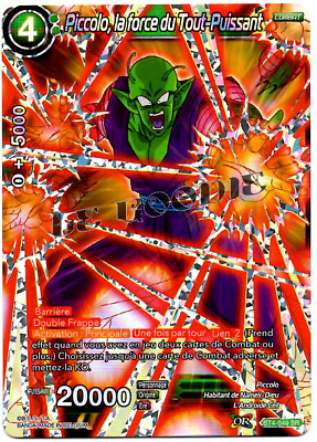 Dragon Ball Super Card Game FR Piccolo, la force du Tout-Puissant BT4-049 SR