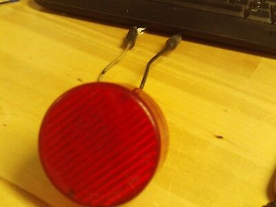 2 inch Red Led SAE-P2-99 9 diode truck light Free Shipping