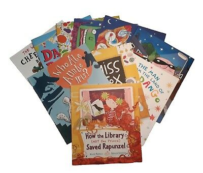 Super Fun Story Time Picture 10 Book Set Children Nursery Toddler Girl Boy New