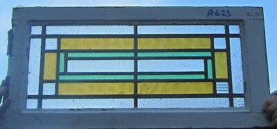 A623    Stained Glass Ca 1930s