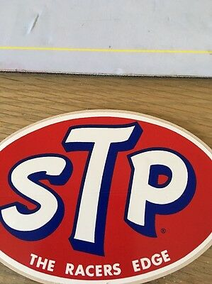 Stp Vintage Decal Red With Blue The Racers Edge