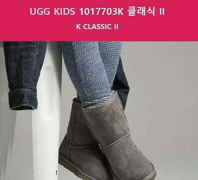 99369a94ee7 UGGS GIRLS BLUE K Classic - Size 3 - $35.00 | PicClick