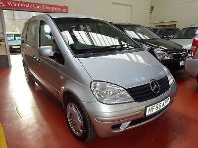 56 Mercedes Vaneo     Wheelchair Adapted Disabled Vehicle