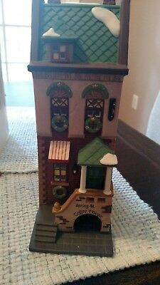 "Dept 56 ""Spring Street Coffee House"""