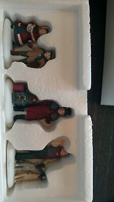 Dept 56 Dickens Heritage Village Vision Of A Christmas Past  Set Of 3