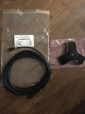 Polycom Real Presence Microphone 2201-61063-001 with 7.6m cable 2457-23216-002