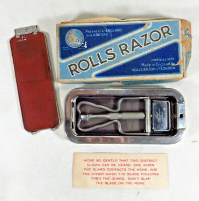 Antique Vtg. 1927 Rolls Razor Imperial No. 2 Made In England with Box