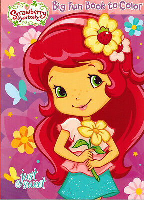 Strawberry Shortcake - Coloring Book  -  Just Sweet -