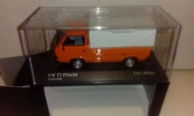 VW Pritsche T3 - orange - Minichamps - 1/43