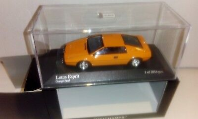 Lotus Esprit - orange - Minichamps - 1/43