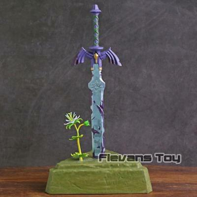 The Legend Of Zelda Breath of the Wild Master Sword PVC Figure Collectible Model
