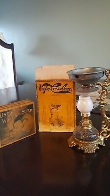 Antique Vapo-Cresolene Mininature Vaporizer Lamp Original Box