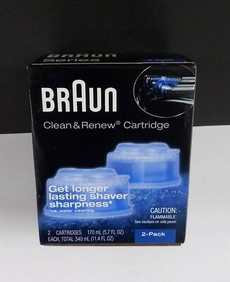 Braun - Clean & Renew Refill Cartridges - CCR - 2 Count
