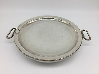 Vintage 19th Century TJ&N Creswick of Sheffield Silver Plate Food Warmer Plate