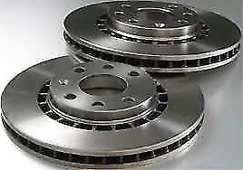 UNIPART GBD492 Brake Discs (Pair) Vented Front For FORD ESCORT SIERRA TVR  AC