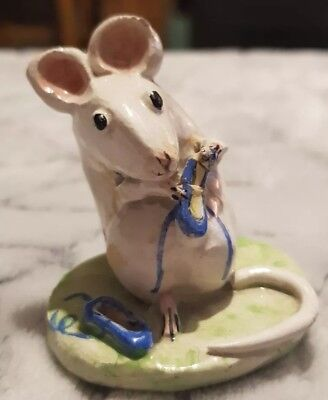 Kitty Macbride Original Rare Mouse With Ballet Slippers Signed Not Beswick A/f