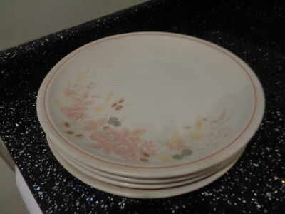 Boots Hedge Rose Dinner Plates X 4