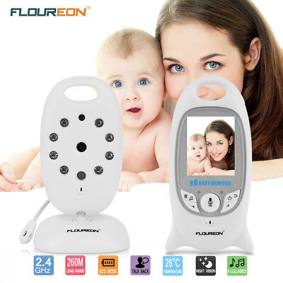 US Home Video Baby Monitor IR LCD Video Security Camera 2 Way Talk Night Vision