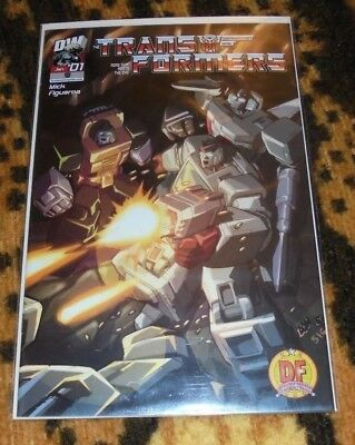 RARE Transformers Generation One Vol 3 #1C Dynamic Forces COA #1293 Dreamwave