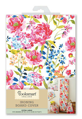 Cooksmart Floral Romance Ironing Board Cover X Large Ironing Board Cover