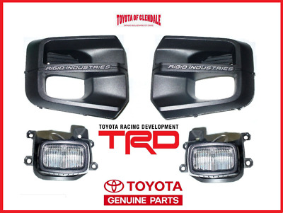 2016-2019 Toyota Tacoma Trd Pro Rigid Industries Led Fog Light Kit Genuine Oem