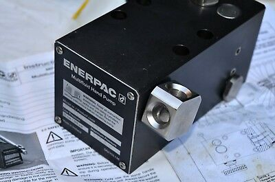 Enerpac Hydraulic Pump MP700  10,000P.S.I multifluid High and Low Pressure
