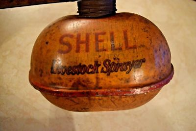 Antique Livestock Bug Sprayer Large 1/2 Gallon Gas Oil Vintage