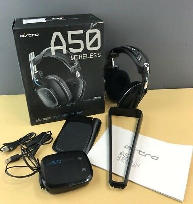 ASTRO Gaming A50  Black Gen 2 for PS PC Wireless Gaming Headset in box #Ng53d