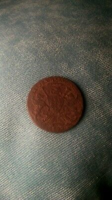Unusual post medieval coin bishop heraldic shield 1397 or 1597 uk detecting find