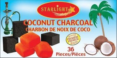 Lot Of 2 Starlight Coconut Shell Charcoal 36 Pcs New Genuine