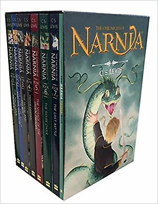 The Chronicles of Narnia 8-Book Box Set + Trivia Book by CS Lewis