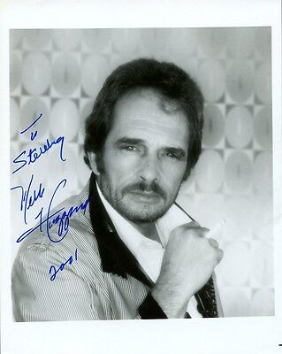 Country Star MERLE HAGGARD In-person Signed Photo