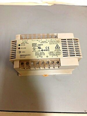 USED Omron S82K-10024 Power Supply Module 24VDC 4.2 Amps