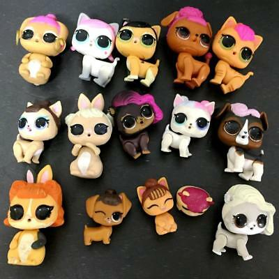 Lot of 15 LOL Surprise Pets Series 3 Kitty and Dogs