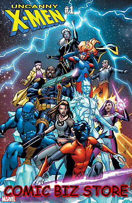Uncanny X-Men #1 (2018) 1St Printing Scarce 1:25 Pacheco Variant Cover ($7.99)
