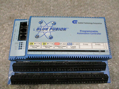 Control technology BC5220 Blue Fusion Programmable Controller REV C  *Tested*